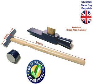 Riveting Cross Pein Hammer 60mm Wooden Handle Premium Quality UK