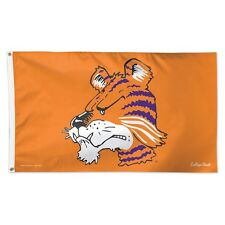 New listing Clemson Tigers Vault The Tiger Mascot 3'X5' Deluxe Flag Brand New Wincraft