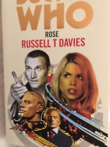 Doctor who  Rose Target book Hand signed by Writer Russell T Davies