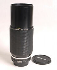 Nikon 80-200mm F4 AIS Zoom-Nikkor Lens - EX++