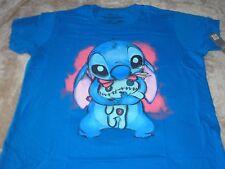 3XL Blue Stitch Woman's Disney Store Tee Shirt NIP XXXL