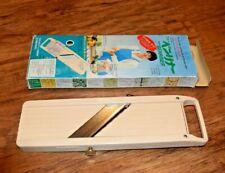 BENRINER SLICER Japanese Vegetable Cutter Mandoline Japan Boxed VGC FREEPOST