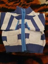 Lovely Boys Mothercare Cardigan Age Tiny Baby