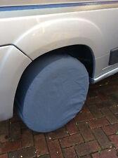 Cubierta del neumático Autocaravana caravanas 100% de protección UV cubierta de Neumáticos-Gris