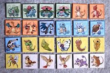 POKEMON MAGNET PIKACHU NO.001-062 HANDMADE 2 PCS