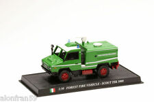 Auto Feuerwehr Diecast Forest fire Fahrzeug Scout TSK 1000 (iveco) - CBO063