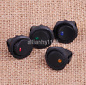 4x Small Waterproof ON/OFF Car Round Rocker Dot Boat LED Light Toggle Switch AU