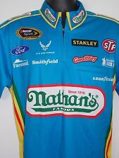 RICHARD PETTY MOTORSPORTS ARIC ARMIROLA 1/4 ZIP CREW SHIRT MEDIUM NATHAN's