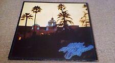THE EAGLES HOTEL CALIFORNIA Asylum RE GER LP 1976 w POSTER Glenn Frey Don Henley