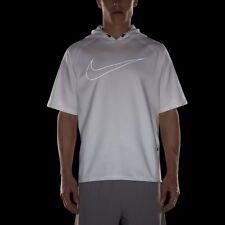 Nike City Men's Short Sleeve Running Training Gym Casual Hoodie Hoody Hood L