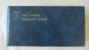 Collection of Pre Stamped Envelopes (1978-81) in PW Binder Vol 1 No 1 - 45 Mint