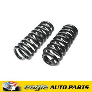 FORD F250 F350 FRONT COIL SPRINGS STD HEIGHT 1981 - 1996   # 587-1023
