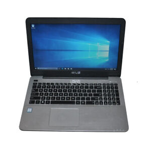 "ASUS F555U 15.6"" Laptop Intel i5-6200U CPU 8G RAM 500G HDD Win 10 Home"