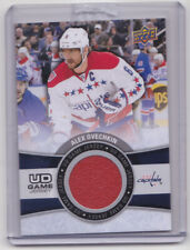 15-16 Upper Deck Alex Ovechkin UD Game Jersey Capitals 2015