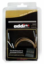 Addi haga clic en los cables y conector para agujas de tejer intercambiables
