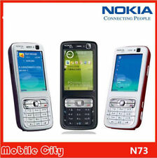 "Nokia N73 2.4"" Bluetooth 3.2MP Camera 3G Keyboard Unlocked Original Cell Phone"