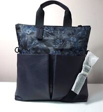 7be8541afd Coach Charles Floral Hawaiian Print Canvas and Leather Foldover Tote Bag  F59304