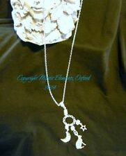 Moonstone Silver Plated Fine Necklaces & Pendants