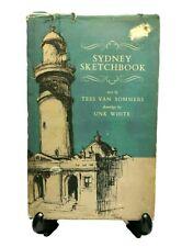 Sydney Sketchbook Tess Van Sommers UNK White Hardcover Dustjacket 1965 Vintage