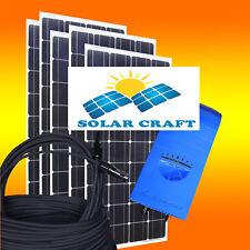 390 Watt PV Station solaire Set Solaire Panneaux solaires Onduleur Câble énergie