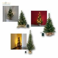 Sapin de Noël TOPPY avec éclairage LED & Minuteur, ARBRE / Batterie