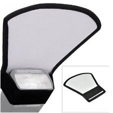 Silver/White Color Fan-shaped Folding Collapsible Reflector Board Flash Disc