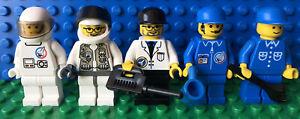 LEGO Space Lot of 5 Astronauts NASA Life On Mars Minifigures
