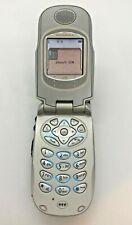 COLLECTIBLE Motorola Nextel i730 Cellular Flip Phone & Walkie Talkie WORKING VGC