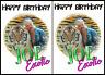 TIGER KING JOE EXOTIC Birthday Card Carole Baskin Birthday Mum Sister poster fun