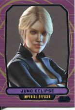 Star Wars Galactic Files 2 Blue Parallel Base Card #541 Juno Eclipse