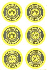 Borussia Dortmund BVB Aufkleber Sticker 6 Logos Bundesliga Fussball #589
