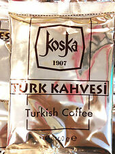 3 X Ground Turkish Coffee KOSKA(Turk Kahvesi) totally 300gr, 10.582 oz CHEAPEST