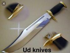 "18"" UD CUSTOM HANDMADE D2 HUNTING CROCODILE DUNDEE HIGH POLISH BOWIE KNIFE"