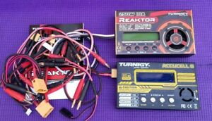 Turnigy Reaktor 250W 10A 1-6S  and Turnigy Accucell 6 80w 10A balanced chargers