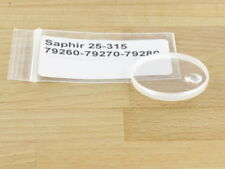 Saphirglas Glas m. dichtung Tudor Chrono ref. 79260, 79270, 79280 ref. 25-315C
