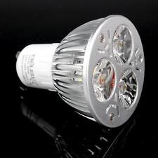 MR16 GU10 E27 Led Bulb 9W Power 3x3W Lamp Home White Light Super Bright CREE