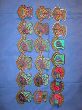 Lot of 19 Patches Military USAF 1982 CS, Pacific air force, Communication Lot #3