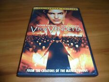 V For Vendetta (DVD, Full Screen 2006) Natalie Portman