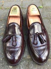 ALDEN Tassel Loafers, Bourgogne, SHELL CORDOVAN, homme, US 8.5, RARE