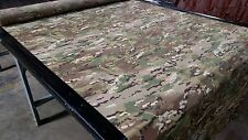 "Multicam Camouflage 1.9 OZ. Nylon Ripstop Fabric Military 60"" Camo Multi Cam DWR"