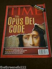 TIME MAGAZINE - THE OPUS DEI CODE - APRIL 24 2006