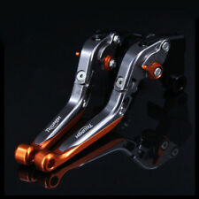 Folding Extending Brake Clutch Levers For TRIUMPH SPEED TRIPLE 2004-2007 CNC