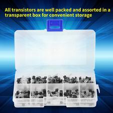 200-tlg 10 Werte NPN PNP TO-92 BC327-BC558 3 Pin Transistor Sortiment DIY Kit ❤