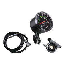 New Analog Speedometer Resettable Odometer Classic Style For Exercycle Bike