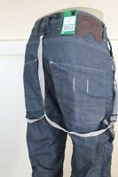 G Star Raw State Chino X Loose W/Suspender Jeans W33/ L32 W220 BNWT