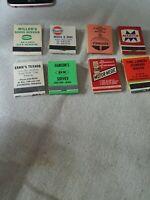 Lot of matchbooks Texaco,Dx,Gulf,Sohio,Martin #15
