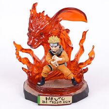 Naruto Uzumaki Naruto Nine Tailed Fox Ver. GK Statue figure 17cm
