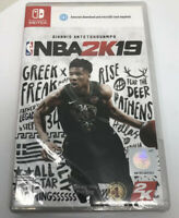 NBA 2K19 (Nintendo Switch) Brand New Factory Sealed