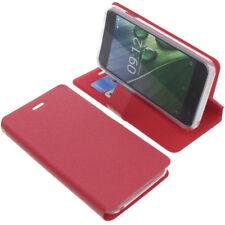 Tasche für Acer Liquid Z6 Book-Style Schutz Hülle Handytasche Buch Rot