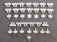 50 Zierleisten Klammern Clips Beplankung für Mercedes W124 W201 A0019885181